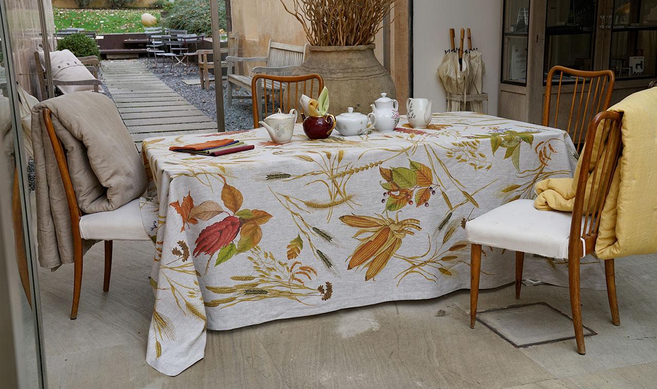 Biancheria per la casa online tovaglie lino e cotone tovaglie su misura - Biancheria casa on line ...