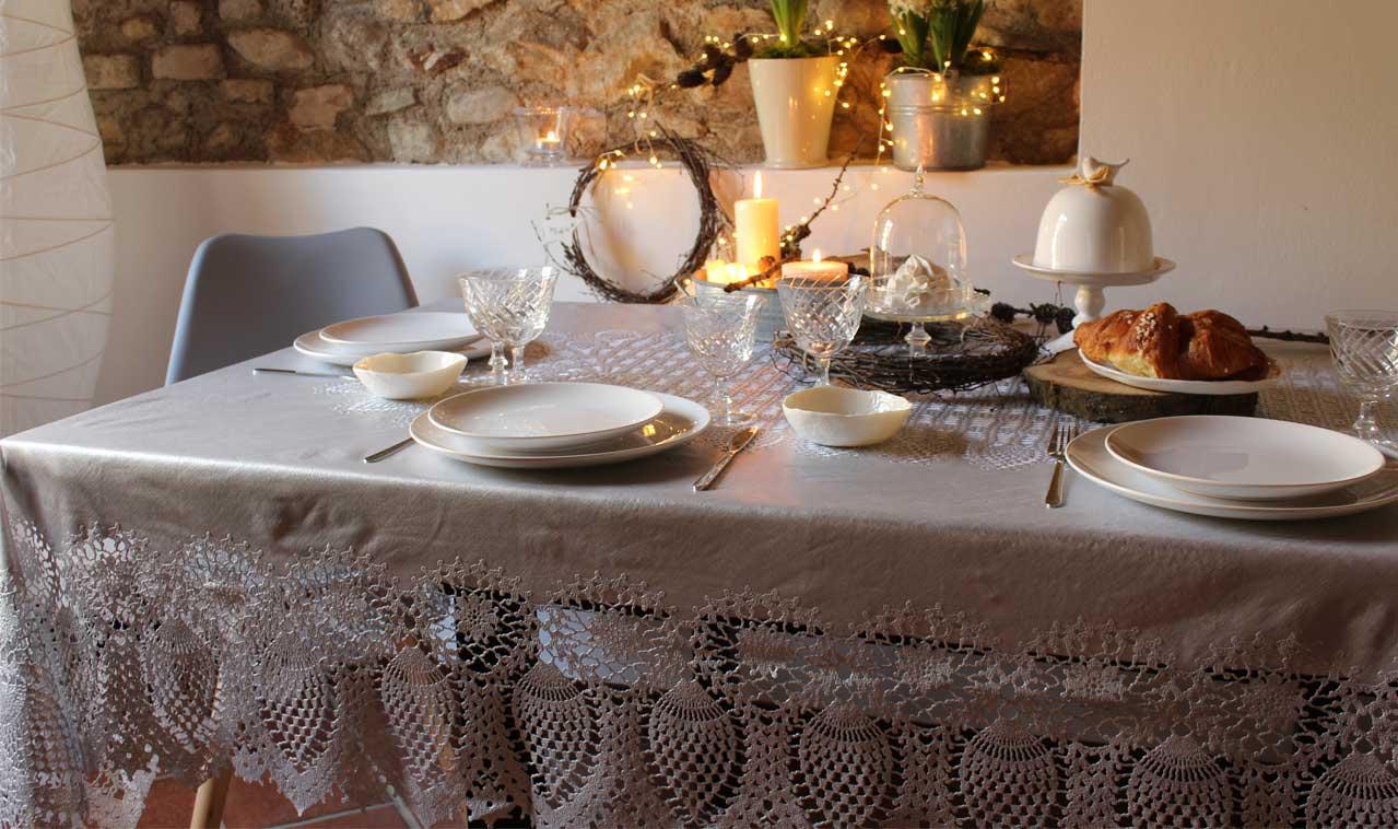 Biancheria per la casa online tovaglie lino e cotone - Biancheria casa on line ...