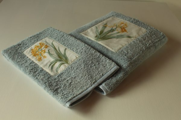 coppia asciugamani cartoline