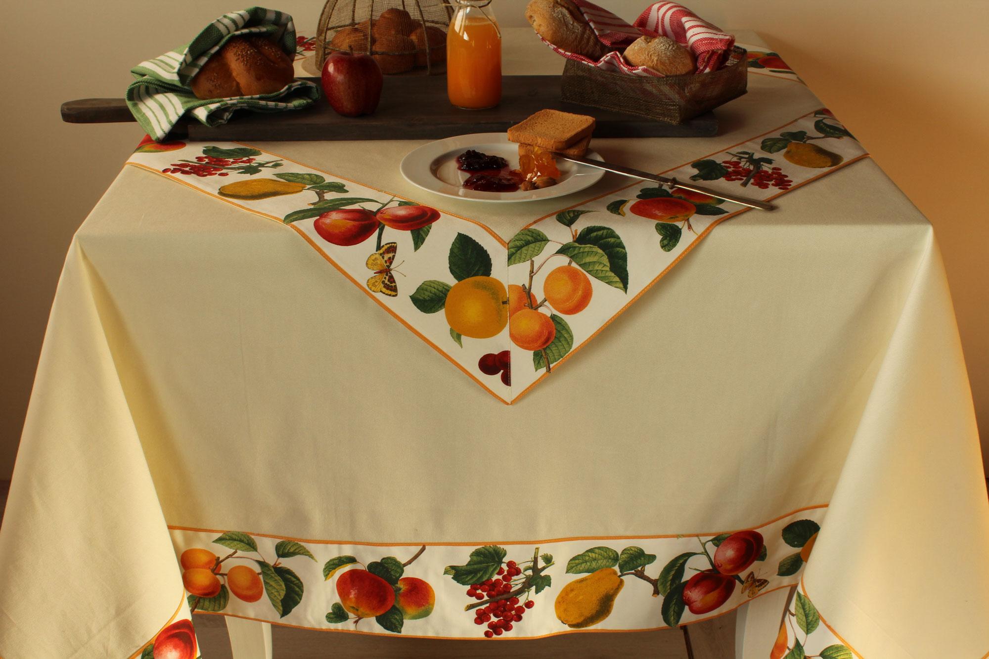 Tovaglia Bordo frutta d'estate