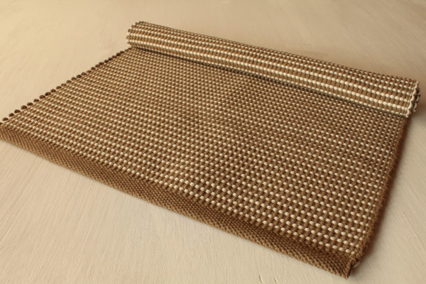 tappeto bicolore corda