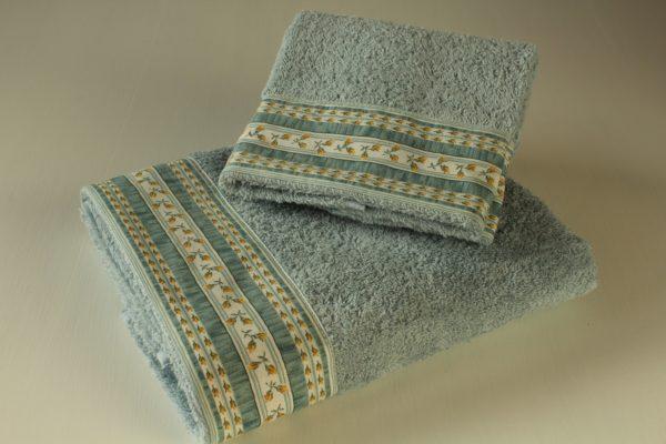 Coppia asciugamani boccioli