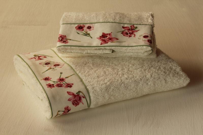 Coppia asciugamani Giunchiglie