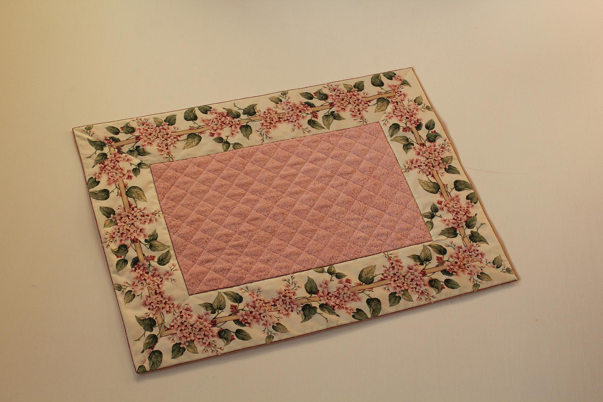tappeto fiori di lillà