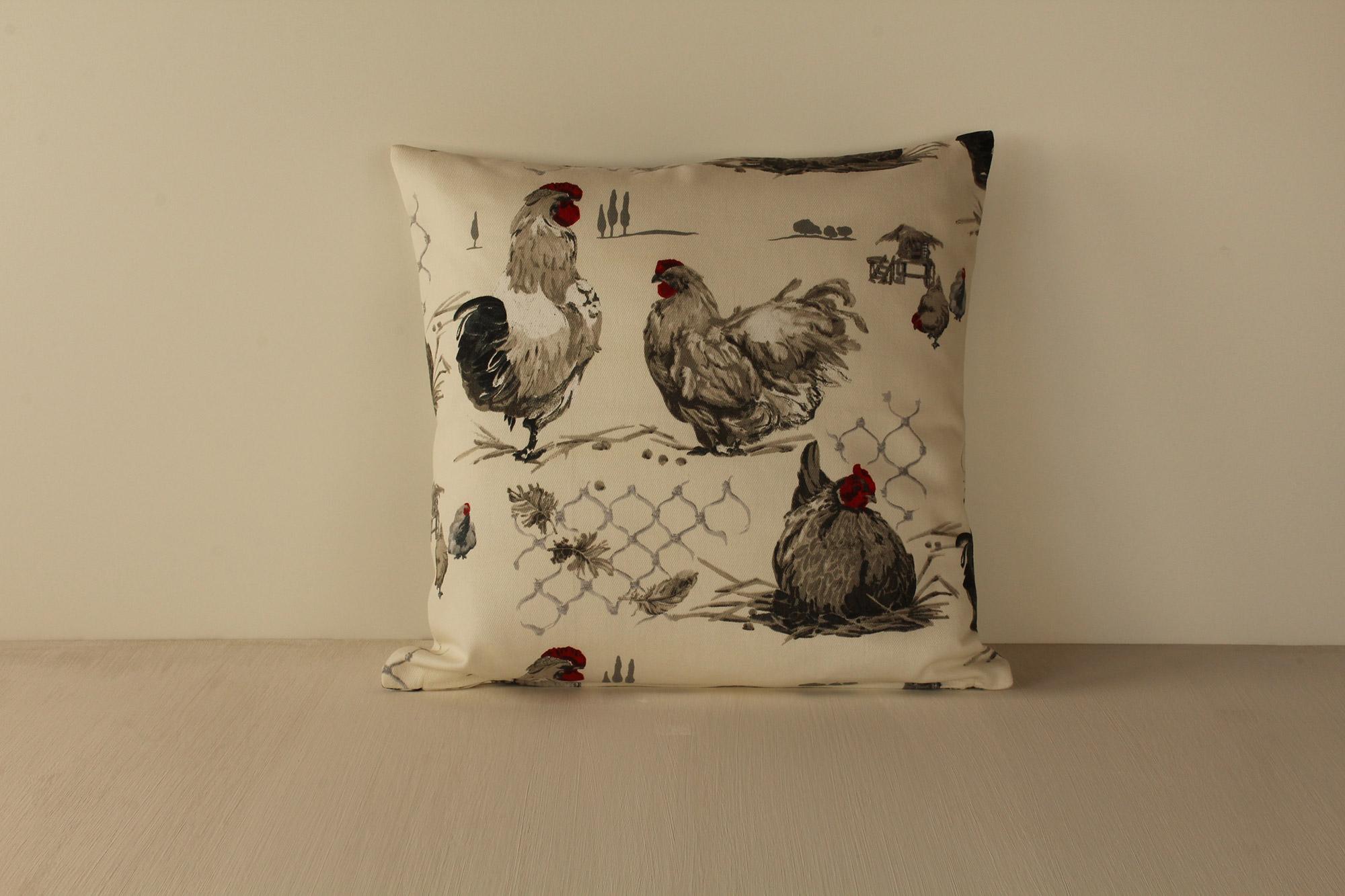 cuscino galline