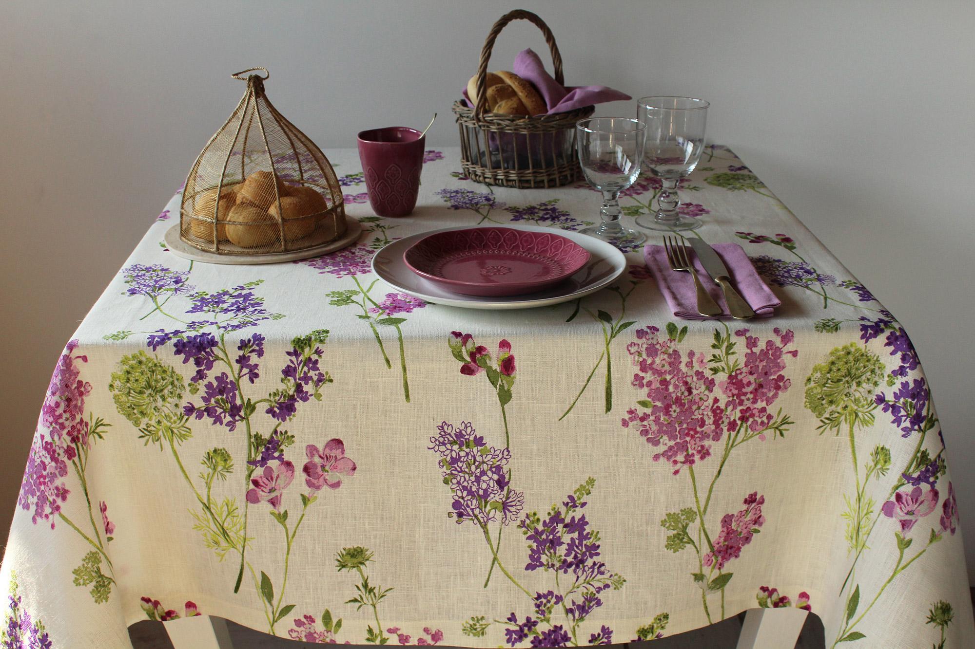 Gallery of tovaglia lilas with articoli per la casa online for Accessori per la casa online