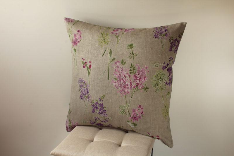 cuscino lilas