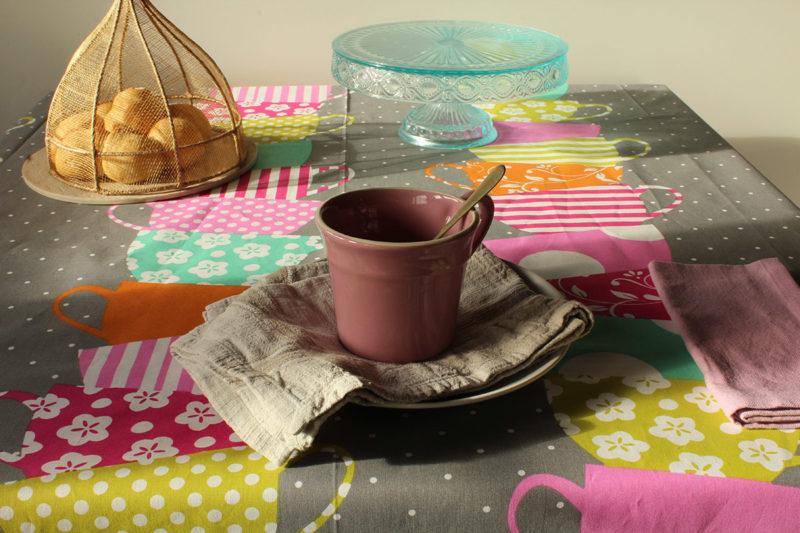tovaglia tazze
