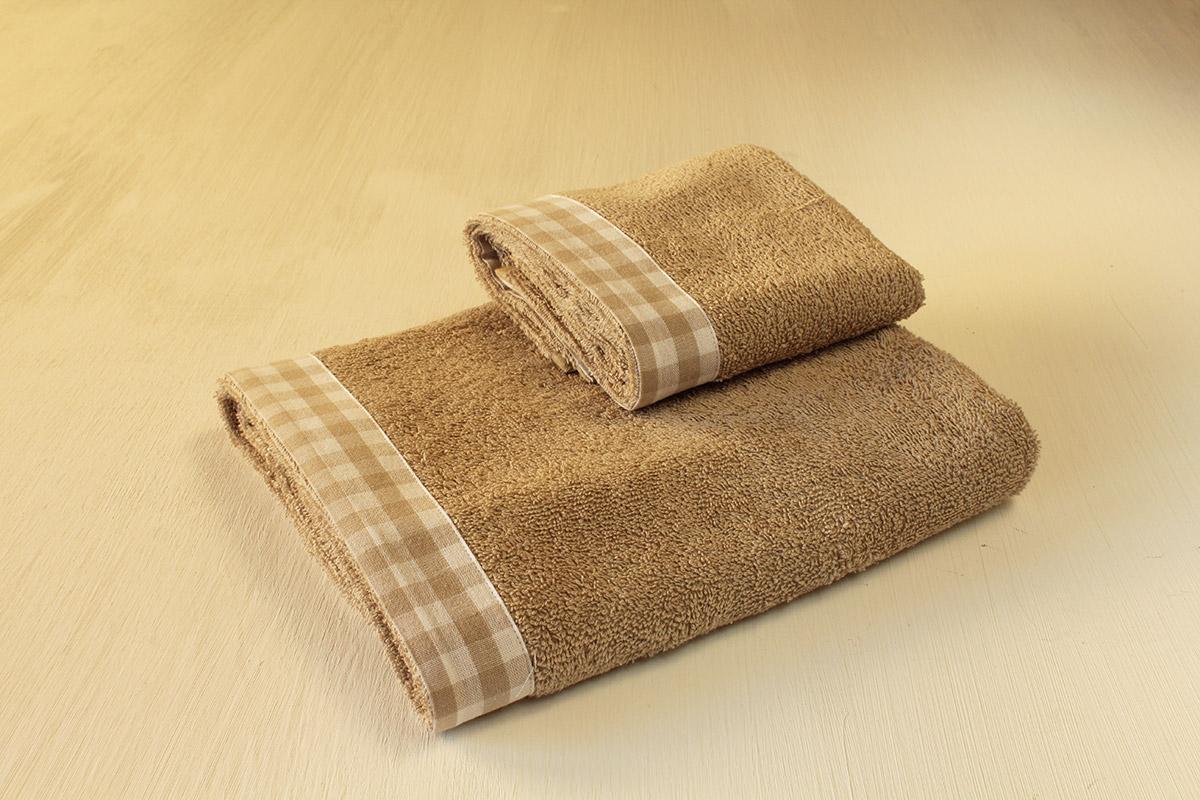 asciugamani quadretti