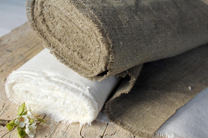 rotolo lino naturale