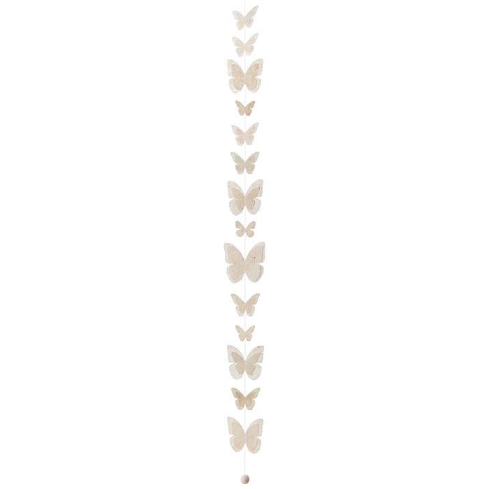filo farfalle carta