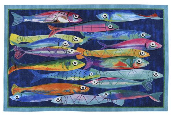 tappeto poisson-bleu-tiptapp